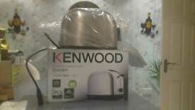 New kenwood toaster.