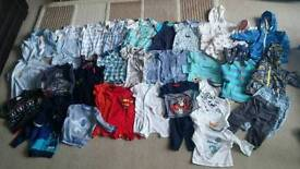 Baby boy clothes age 6-9 months