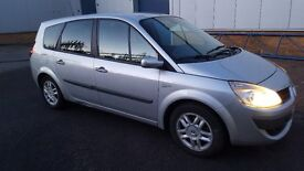 RENAULT GRAND SCENIC DYNAMICUE S 7 SEATER DCI 130 MPV 1 OWNER ONLY 72000 MIL MODEL 2008-