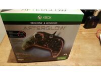 New Sealed Xbox One Afterglow Prismatic Wired Controller