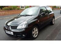Renault Clio Campus Sport 1.2. Low Mileage. ITS A BARGAIN!
