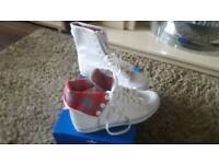Adidas hi tops UK size 7 worn once