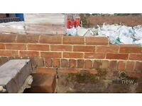 Imperial Reclamation Soft Red Plinth Stretchers | Bricks | Rustic | Wall