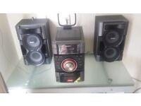 380 watt sony hifi minor issues