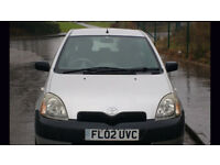 Toyota Yaris 2002, 7 months MOT, 69k miles, very reliable