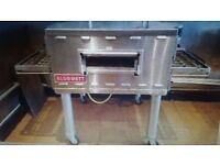 """Blodgett Gas Pizza Oven 18""""conveyor Like NEW only used for 6 months price paid for this £8,280.00"""