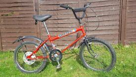 Mk 2 Raleigh Grifter vintage bike