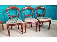 Antique occassional / dining chairs
