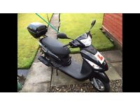 Very Low Mileage Motor Scooter Only 20 Miles On The Clock