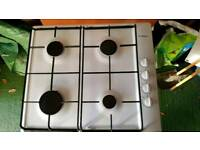 BOSCH WHITE 4 RING GAS HOB