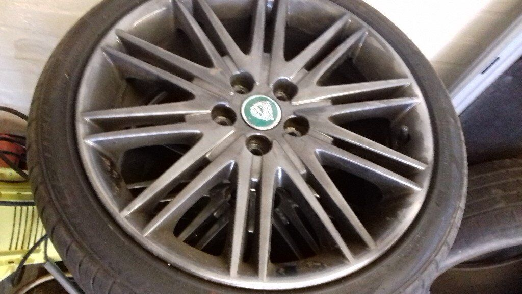 Jaguar Wheels and Tyres, all NEW