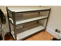 Worktop tabke shelving unit
