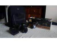 Nikon D3100 DSLR Camera - Black (Kit w/ VR 18-55mm, f3.5 Lens )