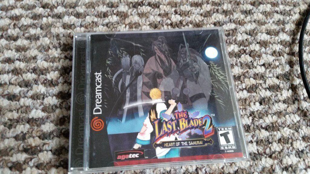 sega dreamcast The Last Blade 2 japanese import 2d fighting