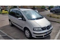 Seat Alhambra 7 seater 1.9 tdi For Sale