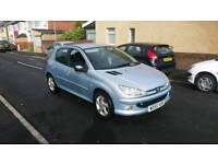 Diesel 2006 Peugeot 206 ,low miles ,12 months mot , very good condition,great on fuel ,px welcome