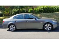 BMW 520D 55 REG GREY LADY OWNED FULL SERVICE HISTORY STARTS AND DRIVES GREAT VERY SMOOTH BARGAIN