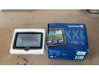 TomTom XXL Classic Series Sat Nav LCD Touch Screen with UK/Ireland Maps