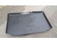 Ford Fiesta Official Genuine Rear Boot Rubber Car Mat Excellent condition