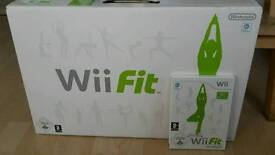 Wii Fit and game