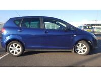 2004 SEAT ALTEA STARTS AND DRIVES GTEAT LIKE VW GOLF CAR HAS MOT V5 AND SERVICE HISTORY ford focus