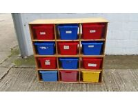 CHILDRENS TOY STORAGE UNITS