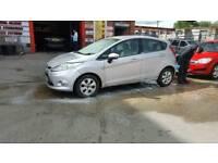 2010 Ford Fiesta Edge Automatic Petrol 1.4ltr 5 Door Silver