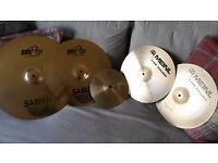 Sabian, Paiste and Meinl Cymbal Set