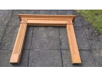 Wooden Fireplace Surround Mantle