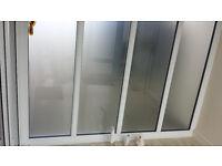 Glazed wall panel