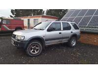 Vauxhall Frontera 2.2dti (Spares or repairs)