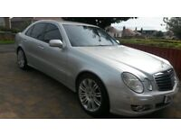 MAY TAKE PX MERCEDES E320 CDI SPORT FSH EXCELLENT CONDITION