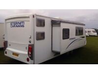 Eterniti 6 birth touring caravan with slide out