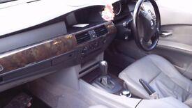 Black BMW E60 5 series AUTOMATIC
