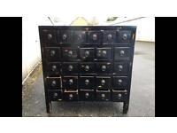 Antique Chinese medicine chest