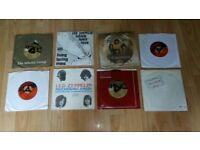 7 x led zeppelin vinyl singles import picture sleeves