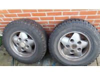Land rover Discovery alloy wheels and tyres BF Goodridge AT