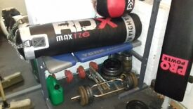 Gym/boxing equitment for sale