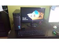 Lenovo Desktop - i7, 1TB, Nvidia GT 720 and included monitor+keyboard
