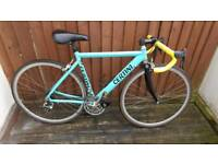 Certini Italian road racing bike in very good condition with campagnolo shifters and brakes