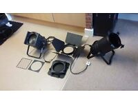 Stage Lights x 2 Excellent Quality and Condition