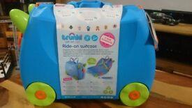Trunki Ride-On Suitcase Terrance (Blue)