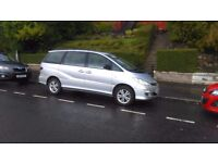 Toyota Previa 2.0 D4D Sliding doors T3 model cruise control. Diesel. 7 seater. Size of sedona galaxy