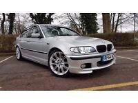 "BMW 325i Sport 4dr Saloon Automatic 2004 ""54"" reg"