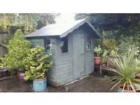 6x8ft Shiplap garden shed