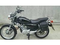 Yamaha YBR 125 custom