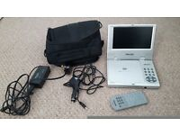 portable dvd player widescreen