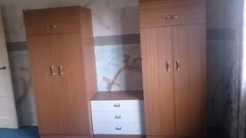Double bed and bedroom units