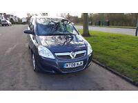 Vauxhall Zafira 7 Seater ,Low miles