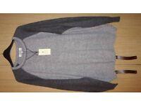 BRAND NEW Men Cardigan By Easy Premium Quality Very Soft & Warm Size XL